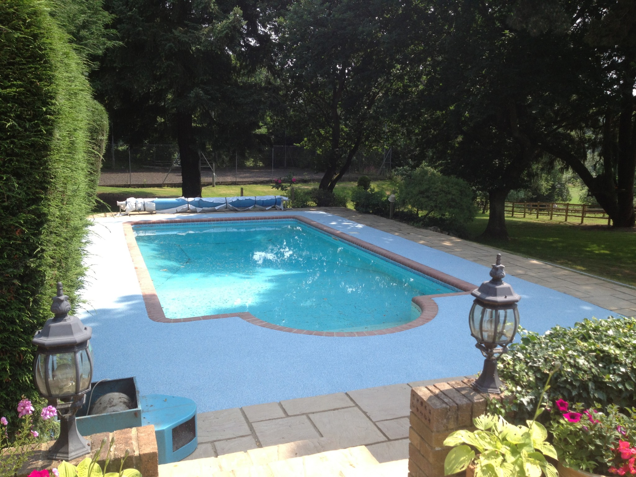 Domestic Pool Surrounds Resin Surrounds For Swimming Pools Flex Flooring