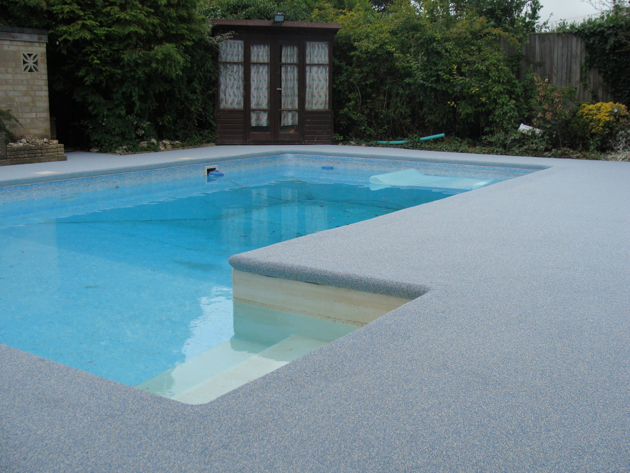 Domestic Swimming Pool Surround Flooring Rubbaflex Fg