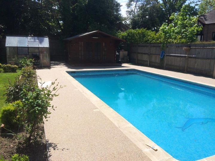 Swimming pool surround ideas these pool ideas look truly for Pond surround ideas