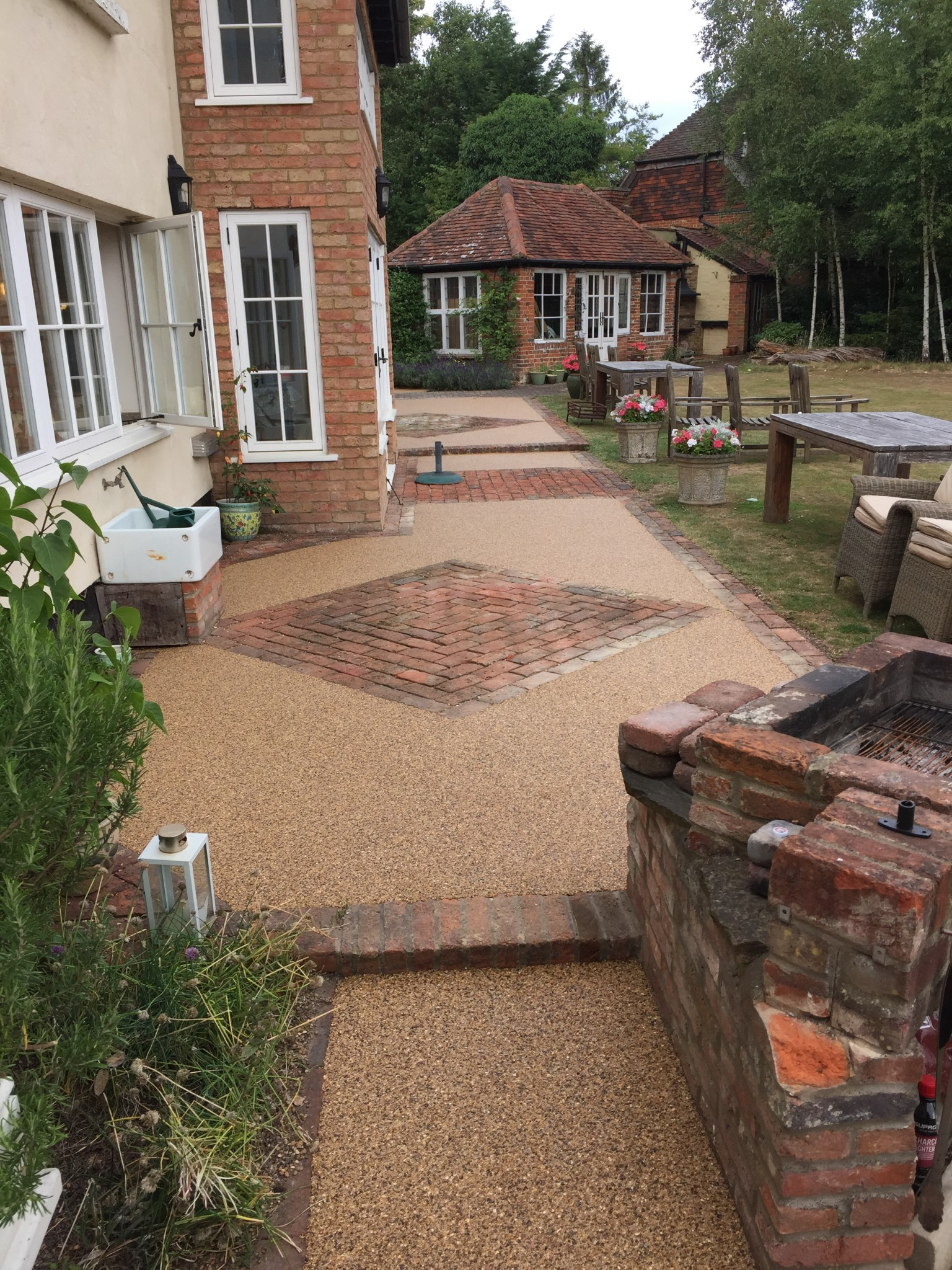 Resin Patios Beautiful Resin Bound Patio Flooring From