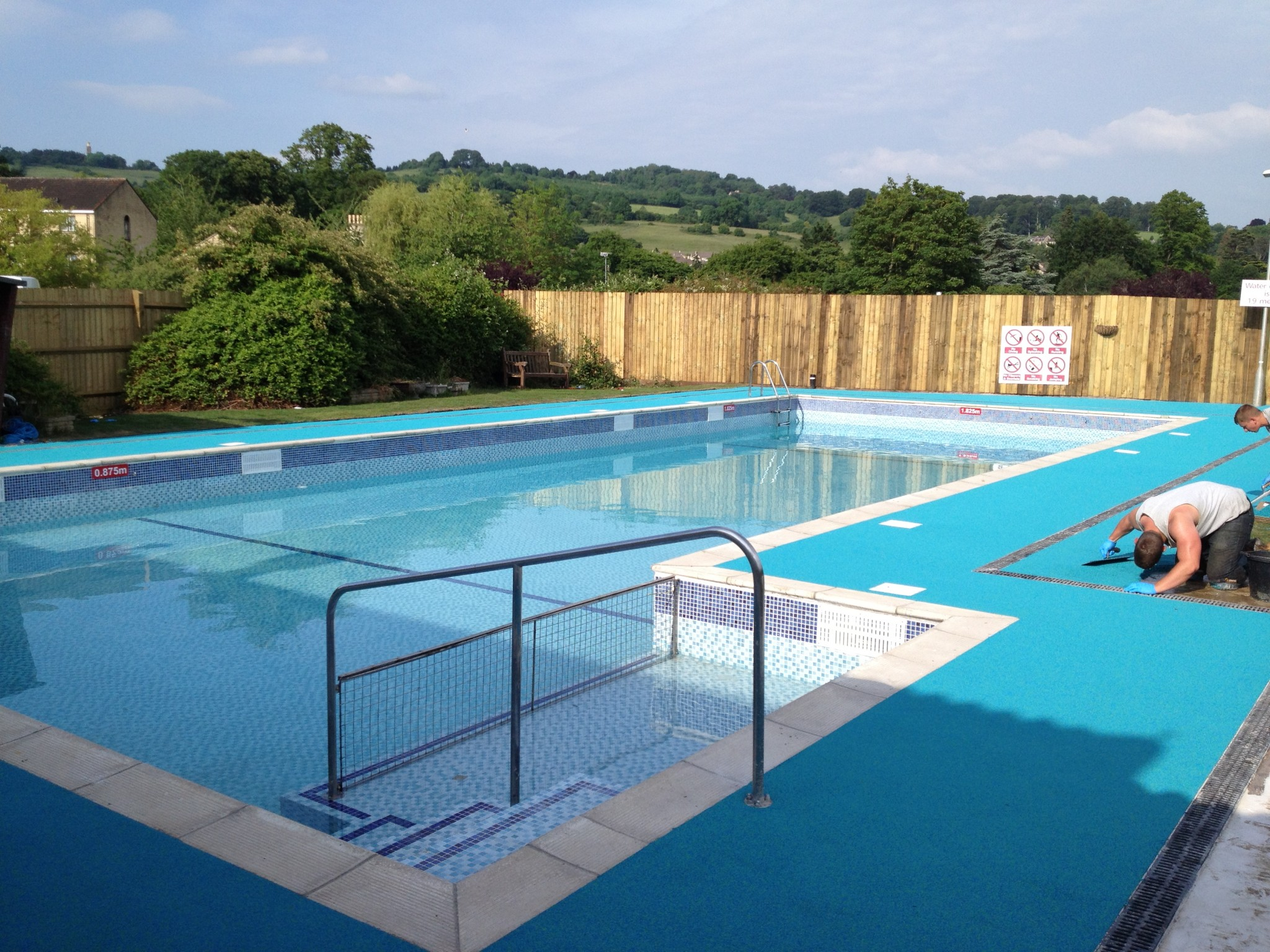 Commercial pool surrounds flexflooring for Commercial pools