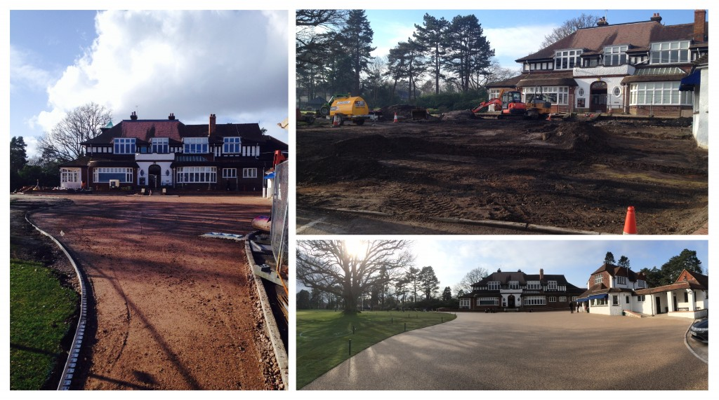 Sunningdale before and after