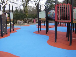 Soft Surfaces - Playground Flooring UK Contractor