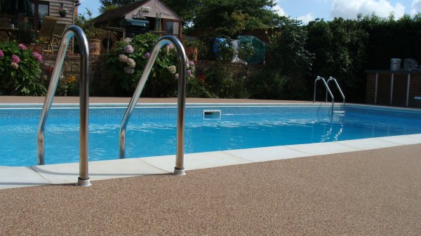 Domestic Pool Surrounds | Resin Surrounds for Swimming Pools | Flex ...