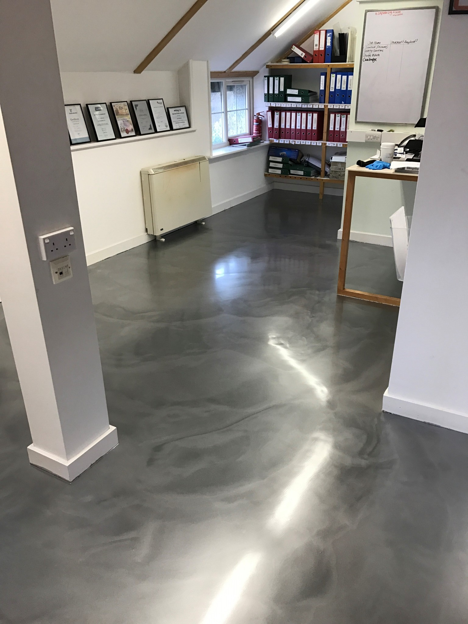 Office Flooring And Shop Flooring Resin Bound Surfaces